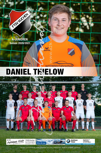FTSV Kuchen Saison 2020/2021 HeroCard A-Junioren