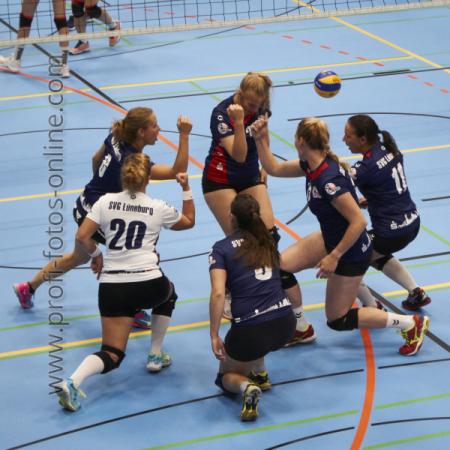 SVG: 1. Damen vs. TV Eiche Horn Bremen II u. SG Karlshöfen/Gnarrenburg, 19.09.2020