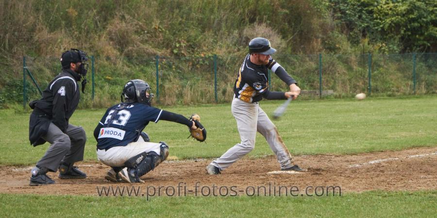 Baseball: Lüneburg Woodlarks vs. Braunschweig 89ers, 27.09.2020